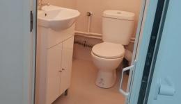 Construim de la zero o toaleta!